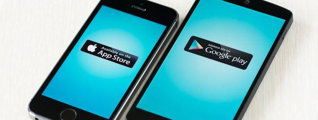Android vs iOS, download vs profitti