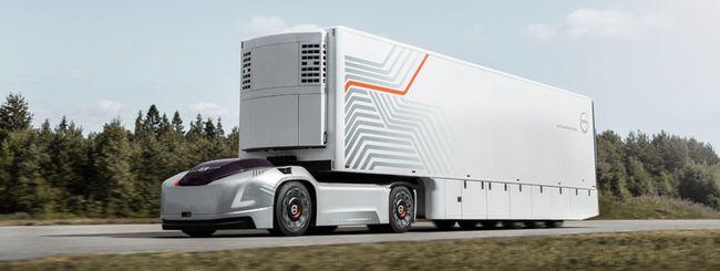Volvo Trucks, camion elettrico a guida autonoma