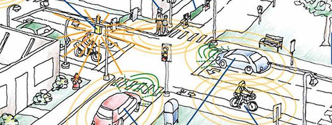 Una città per i test delle self-driving car