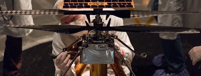 NASA, il drone elicottero sarà il primo su Marte