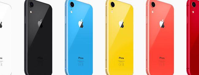 Preordini iPhone XR: alcuni colori in esaurimento