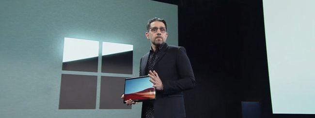 Surface Pro X ufficiale, torna la piattaforma ARM
