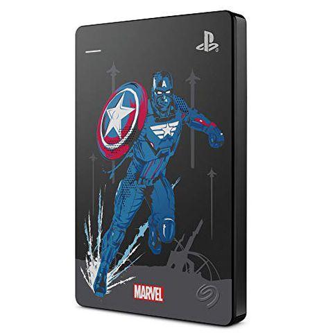 Seagate Game Drive per PS4 Avengers. Captain America Special Edition, 2 TB