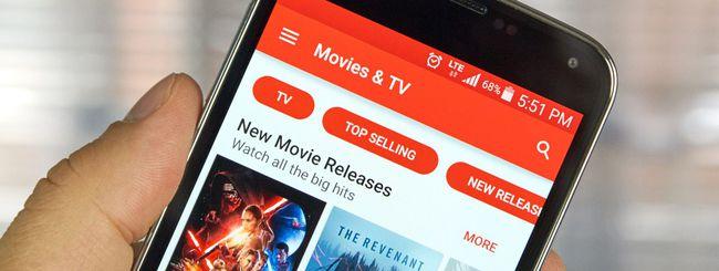 Google Play Film, arriva il cinema in HDR