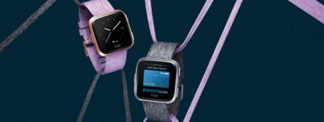 Fitbit Versa è ora disponibile