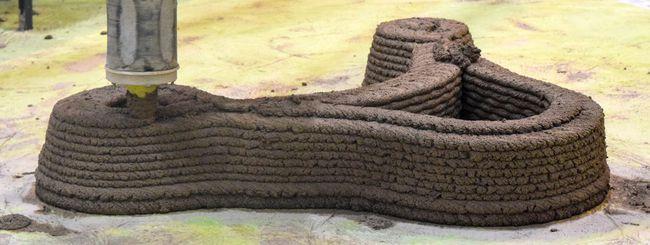 WASProject: case di argilla stampate in 3D