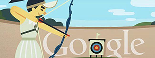 Olimpiadi 2012, un doodle per il tiro con l'arco