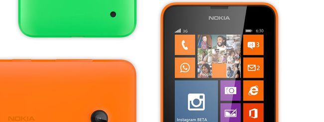 Nokia Lumia 630: preordini al via in Italia
