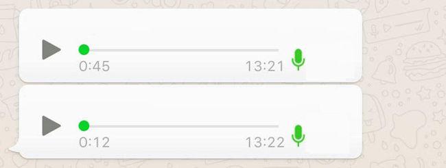 WhatsApp: ascoltare le note vocali senza aprire l'app