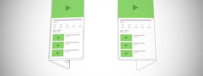 Google supporta i display flessibili con Android