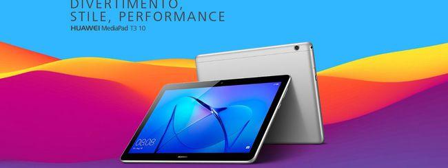 Black Friday Amazon, Huawei MediaPad T3 in offerta