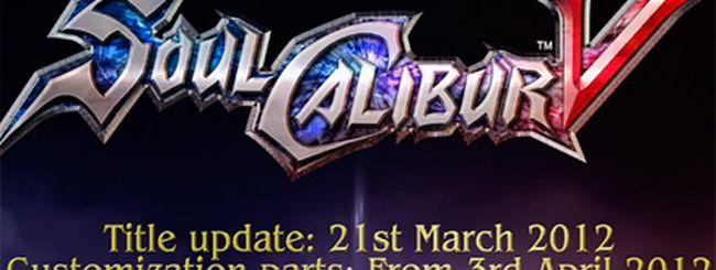 Soulcalibur 5, ribilanciamento e DLC in arrivo