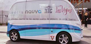 Las Vegas testa un servizio di trasporto autonomo