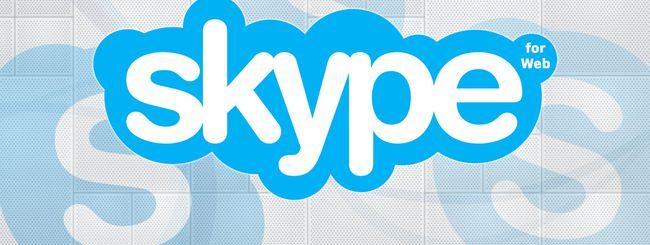 Skype for Web arriva in Italia (update)