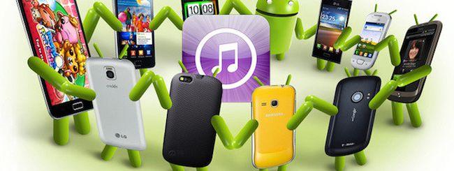 iTunes per Android, Apple sta valutano la possibilità