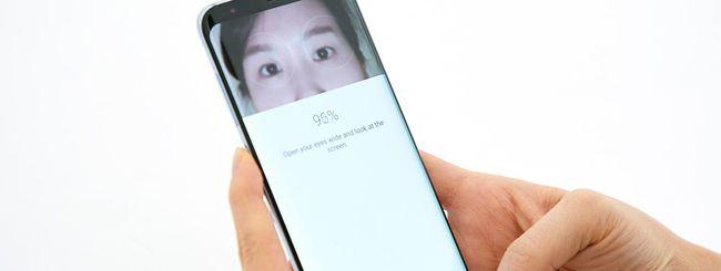 Galaxy S8, lo scanner dell'iride non è sicuro