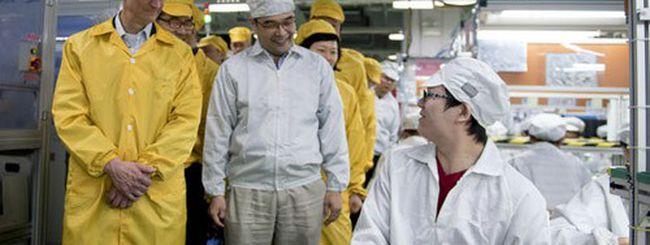Apple e Foxconn divideranno le spese di fabbrica
