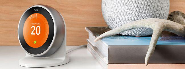 Il termostato Nest diventa ancora più smart