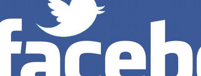 Twitter e Facebook: rien ne va plus