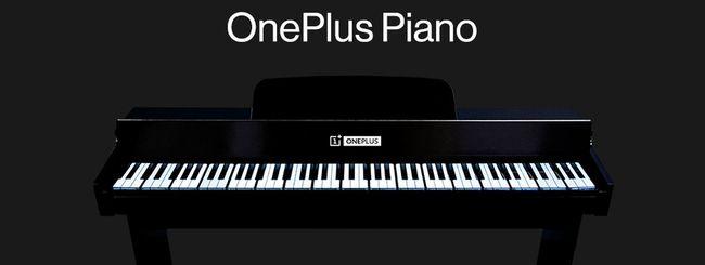 Pianoforte realizzato con 17 OnePlus 7T Pro