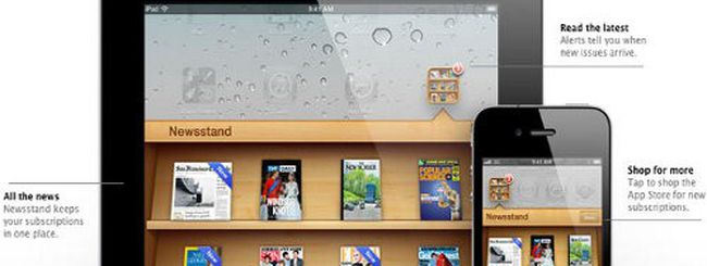 Edicola di iOS 5, boom degli abbonamenti alle riviste