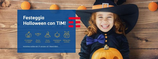 TIM, un pieno di regali per Halloween