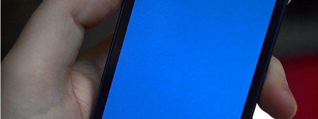 iPhone 5S come Windows: crash con schermata blu