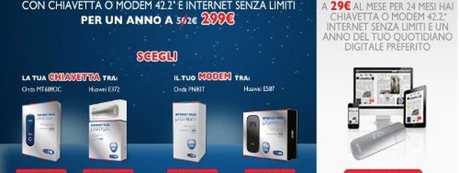 TIM Internet Premium, navigare senza limiti sino a 42Mbit