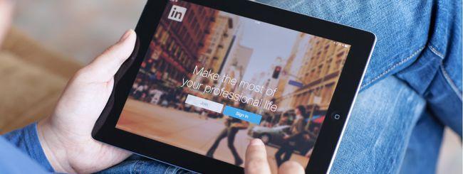 LinkedIn, pubblicità ai non utenti su Facebook