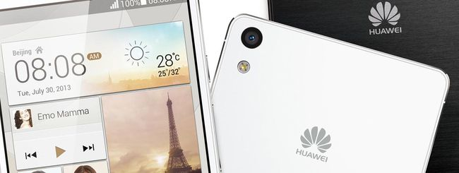 Android 4.4 KitKat arriva su Huawei Ascend P6