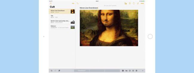iOS 13, disegnare sulle immagini e prendere appunti in Note