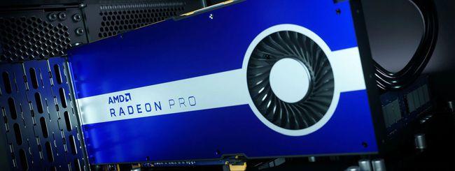 AMD Radeon Pro W5500, nuova scheda per workstation