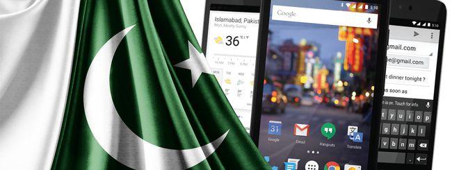 Il programma Android One arriva in Pakistan