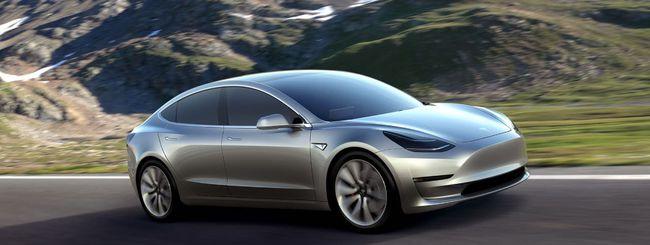 Tesla Model 3, il progetto è completo