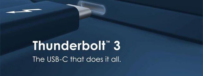Intel integrerà Thunderbolt 3 nelle future CPU