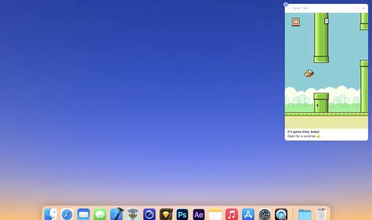 Flappy Bird torna su Mac sotto forma di Notifica Interattiva