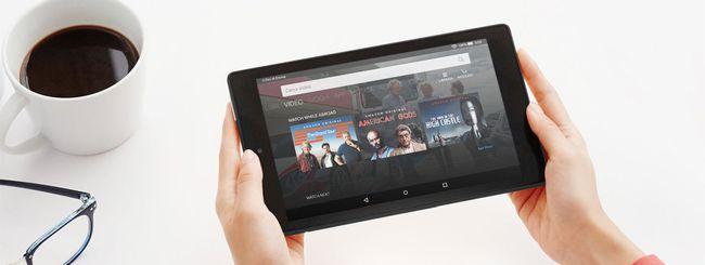 Amazon Fire 7 e Fire HD 8 arrivano in Italia