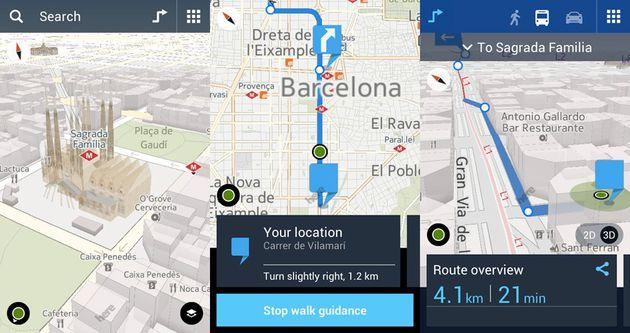 HERE Maps su Nokia X