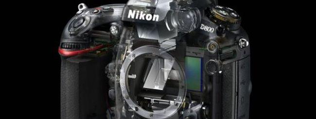Nikon D800, assistenza per l'autofocus: il firmware non basta