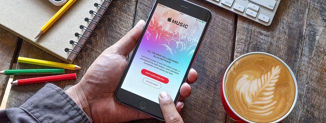 Apple Music: riduzione della trial a un mese