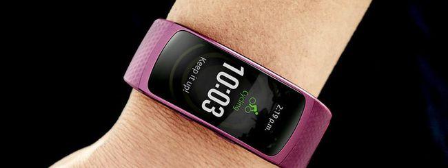 Samsung aggiorna il Gear Fit 2