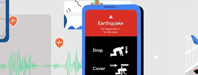 android terremoti