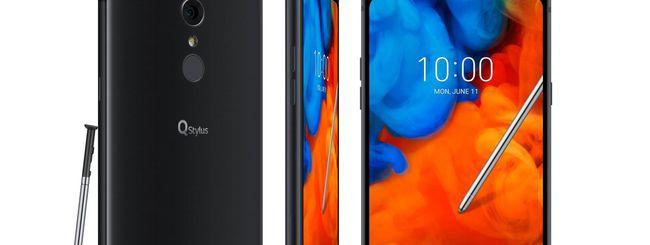 LG Q Stylus, smartphone per la produttività