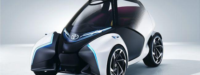 Toyota ripensa la mobilità urbana con i-TRIL
