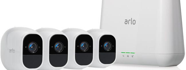 Videocamere Netgear Arlo, nuove funzionalità Smart