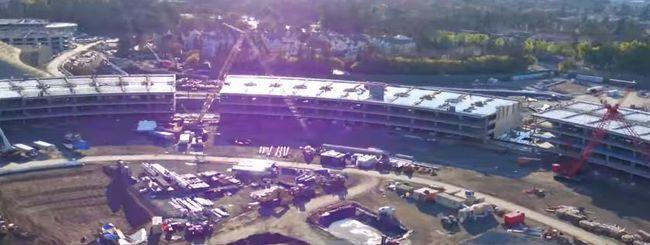Apple Campus 2: un drone ci mostra i progressi nella costruzione