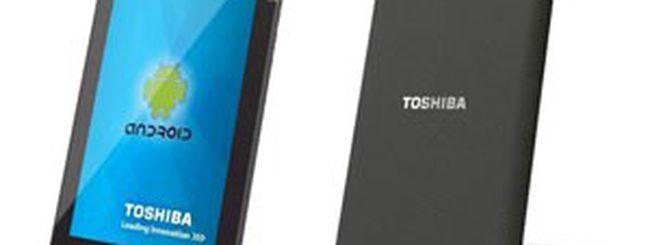 Toshiba 10.1 Android Tablet: Honeycomb e NVIDIA Tegra 2