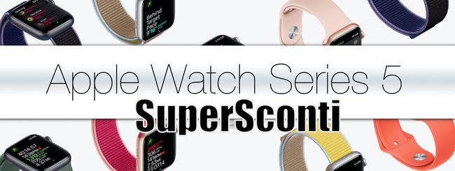 Apple Watch Series 5: su Amazon è scontato di oltre il 13%