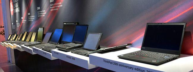Lenovo celebra i primi 25 anni di ThinkPad