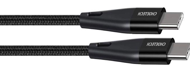 Coppia di cavi da USB-C a USB-C a 3,50€ l'uno